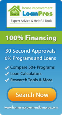 home improvement loan banner